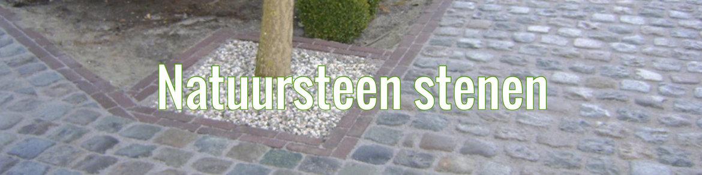 Natuursteen-stenen
